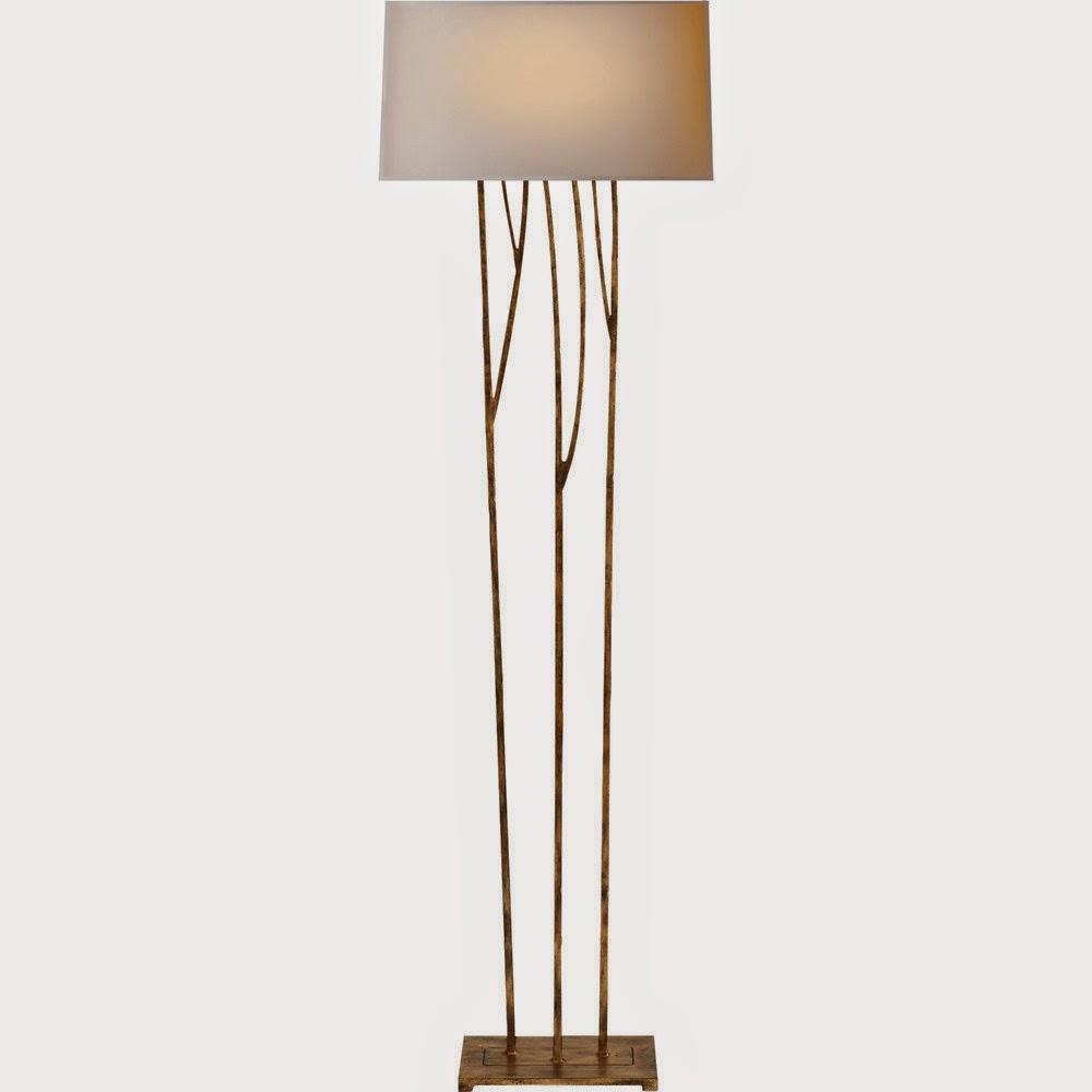 Darya girina interior design branches and trunks in for Aspen tree floor lamp