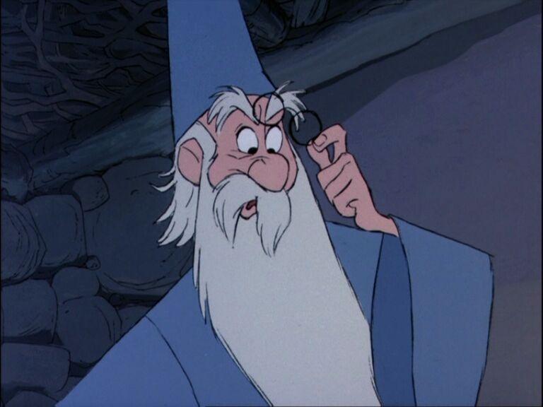 Merlin disney witch - photo#14