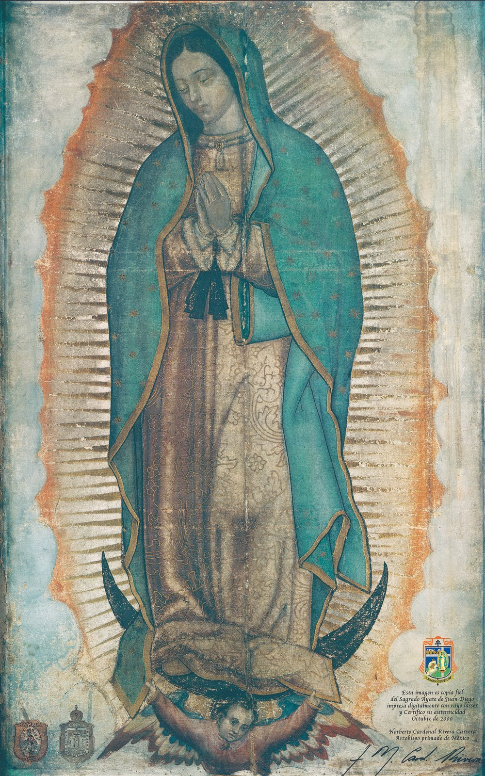 Juan Diego Y La Virgen De Guadalupe >> At the Feet of the Mother: Mexico Naciente (Spanish edition)