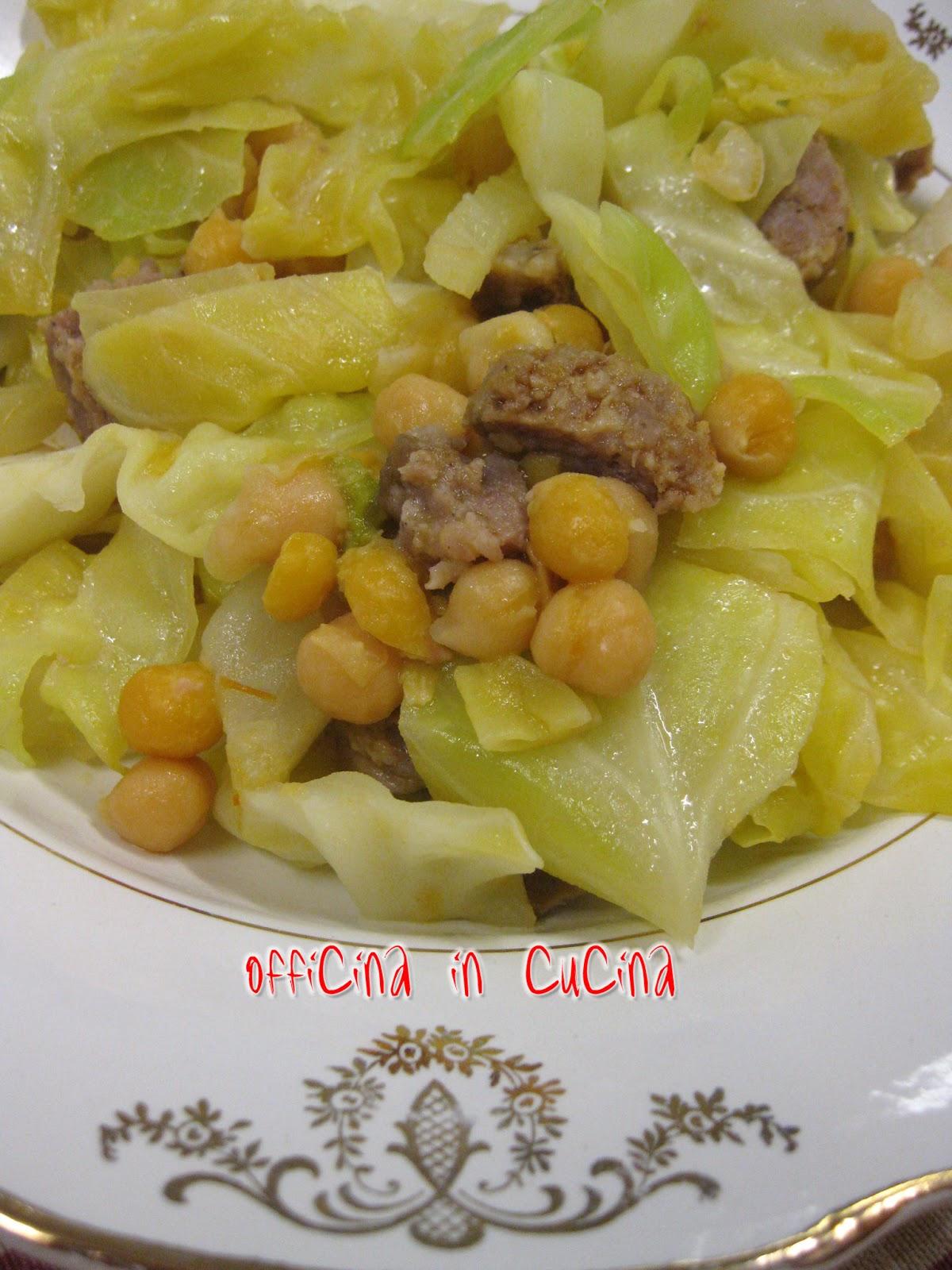 Cos 39 il cavolo cappuccio bianco insalata calda con ceci - Cucinare il cavolo ...
