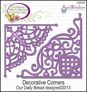 ODBD Decorative Corners Die Set