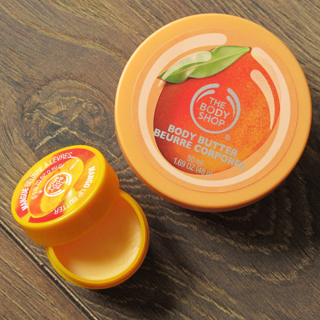 Egzotyczne mango z The Body Shop