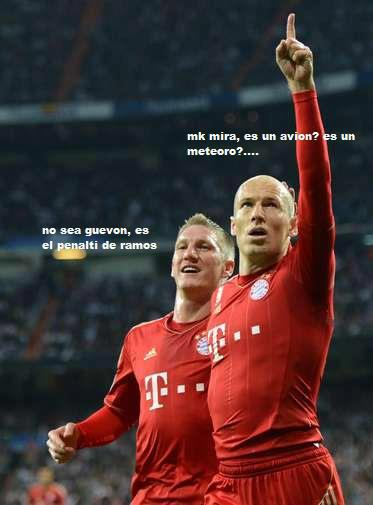 Im  Genes Chistosas Del Partido Real Madrid Vs Bayern Munich