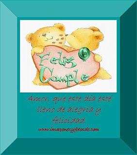 Tarjeta de Cumpleaños Romantica con Osos