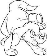 Dibujos de Perritos para colorear dibujosparaninos dibujos para colorear de perritos