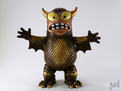 Chocolate Brown Painted Greasebat by Jeff Lamm