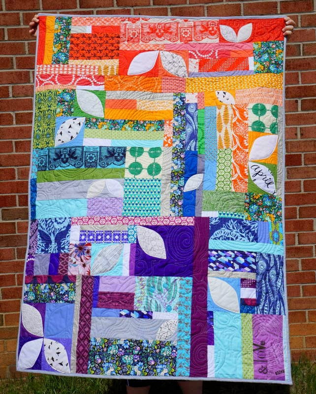 http://quiltyhabit.blogspot.com/2015/04/soar-finished-orange-peel-quilt.html