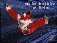 Funny photo Mircea Geoană Santa Claus Is Coming Felicitari sarbatori iarna