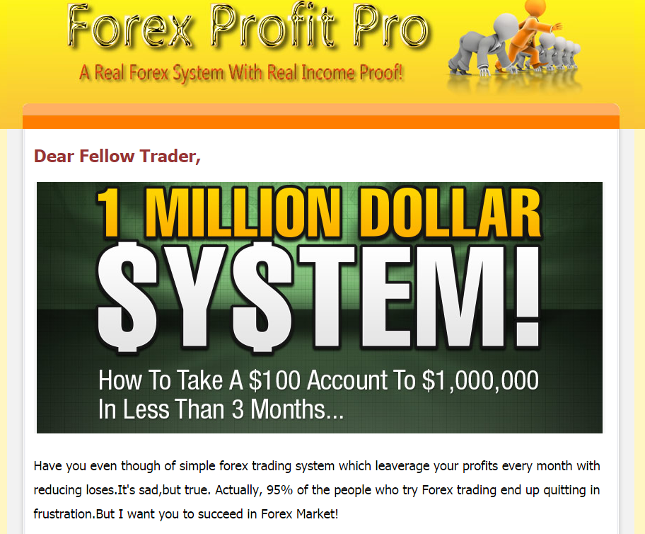 Forex trading profits