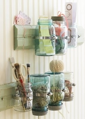 diy craft organizing