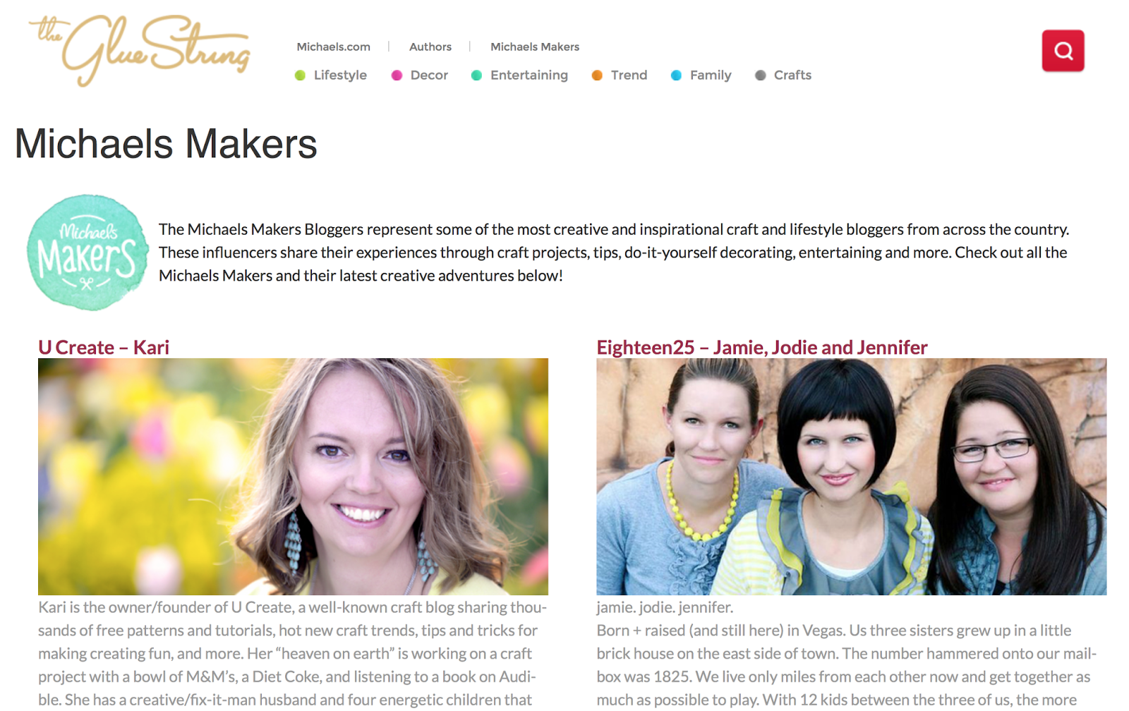 Michaels Makers Bloggers