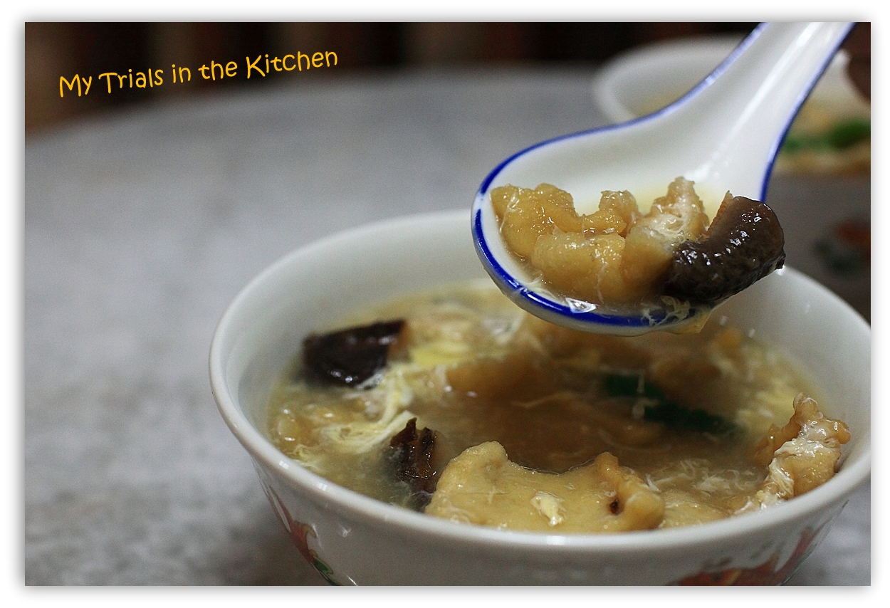 My Trials in the Kitchen: Chinese Fish Maw Soup #SundaySupper