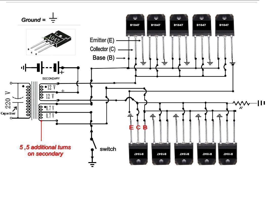 Make Your Own 50 To 500 Watt Power Inverter Ups In Urdu Physics 100 Circuit