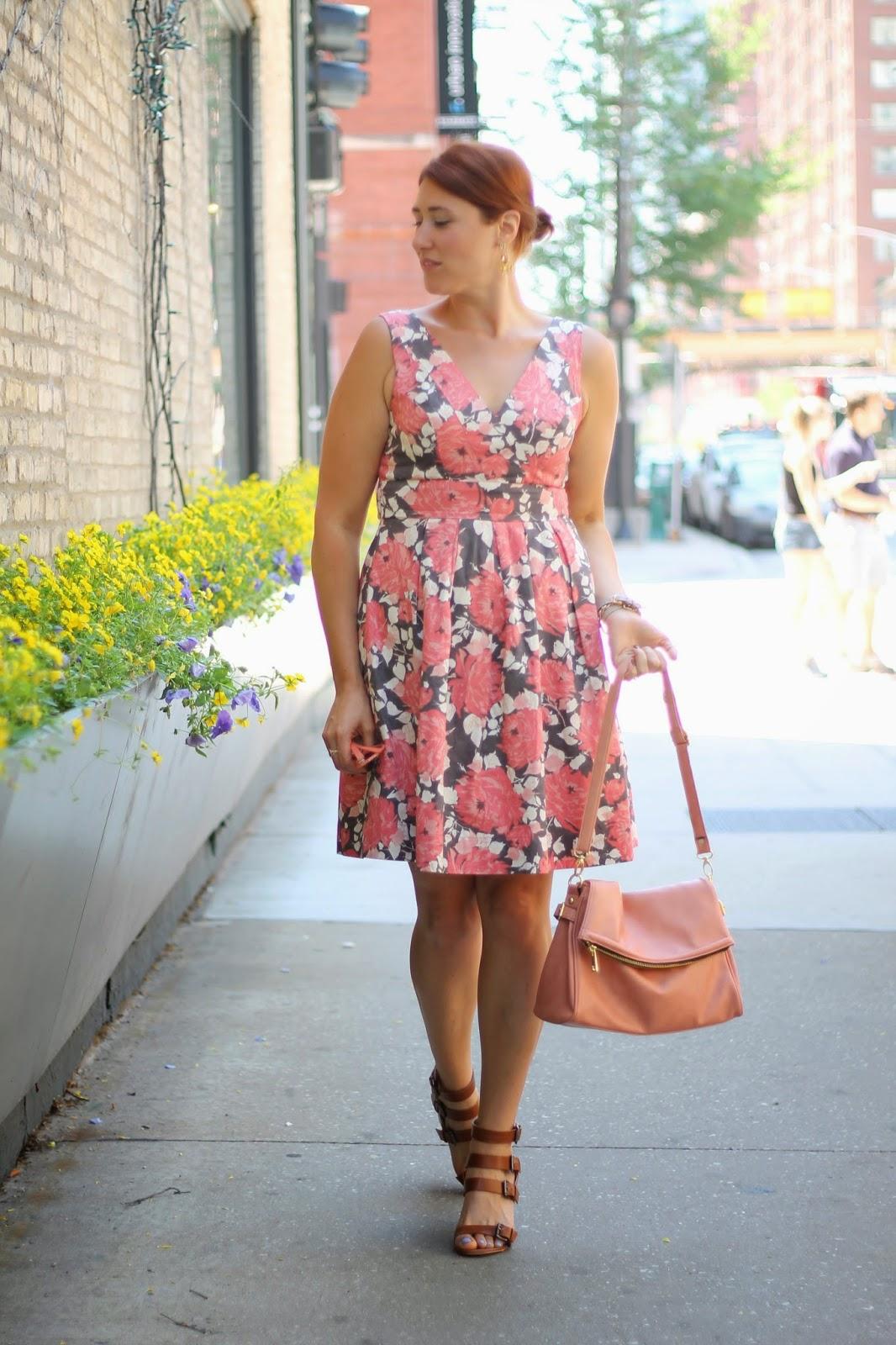 floral, dress