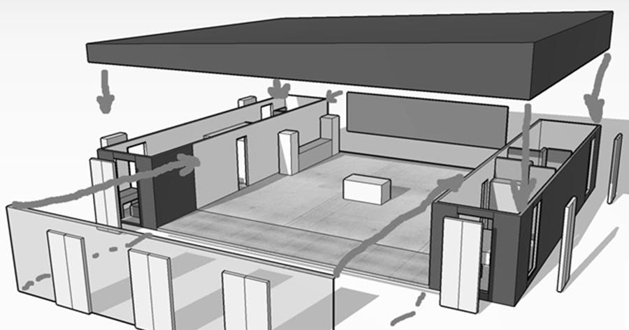 l avenir des constructions avec containers maritimes maison container. Black Bedroom Furniture Sets. Home Design Ideas