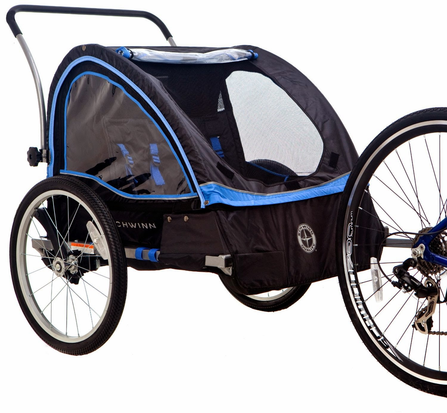 Schwinn Scout Bike Trailer Jogging Stroller Review