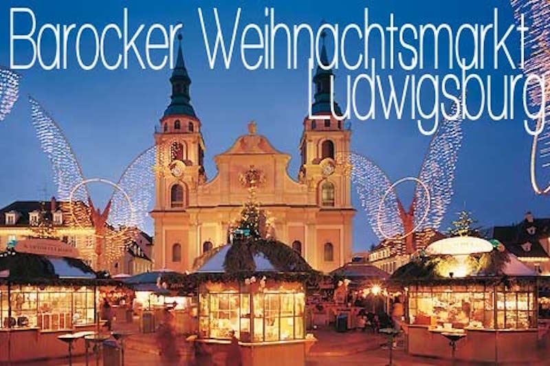 Weihnachtsmarkt Deutschland Ludwigsburg Barock Barocker Beste Weihnachtsmärkte