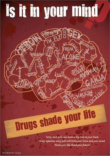 Contoh Poster Anti Narkoba