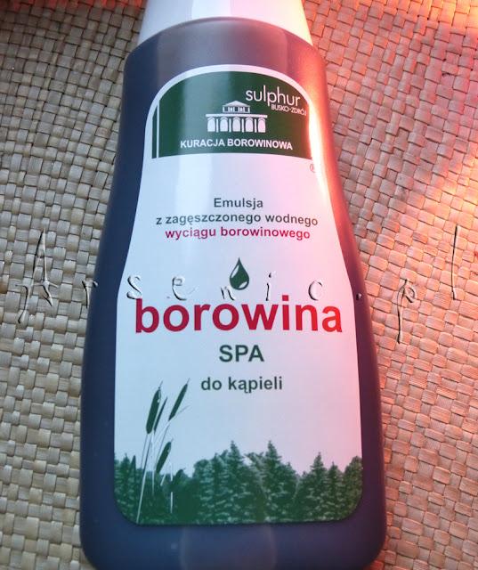 Borowina SPA do kąpieli Sulphur Busko Zdrój