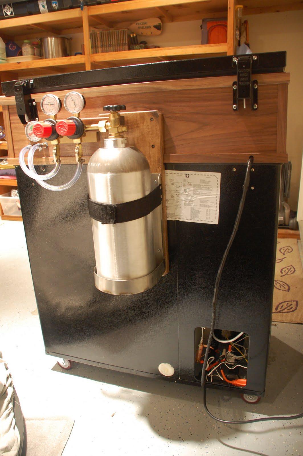 Converting A Fridgidair 7 2 C Ft Chest Freezer Keezer