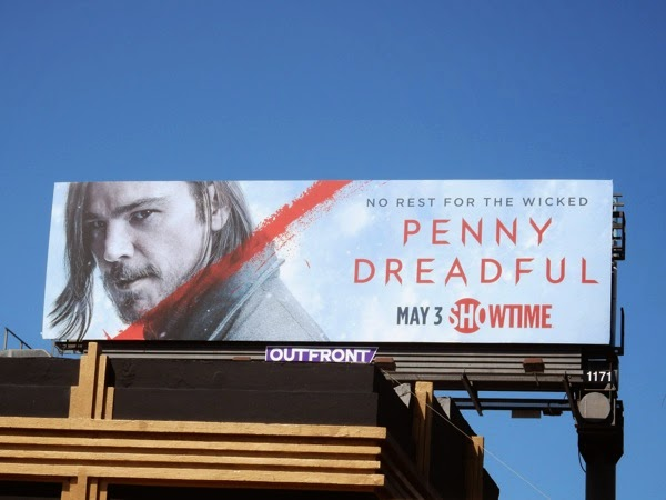 Josh Hartnett Penny Dreadful season 2 billboard