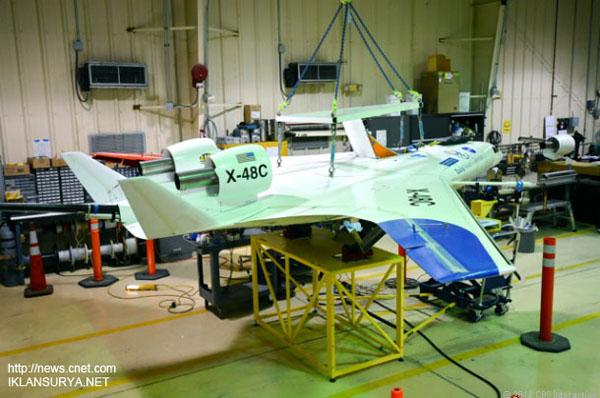 X-48C Pesawat Masa Depan