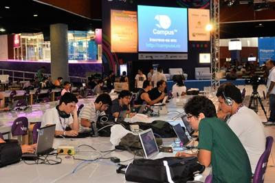 Barcamp e Cross Space da Campus Party 2013