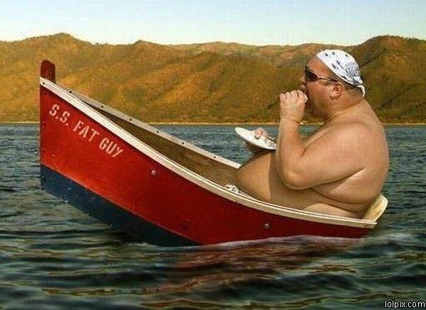 Skinny Fat People Pictures. Not on this cruise!