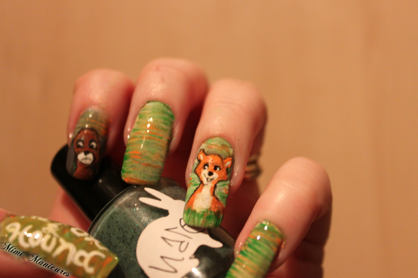 my adventures in nail polish: Disney Days Fox And The Hound