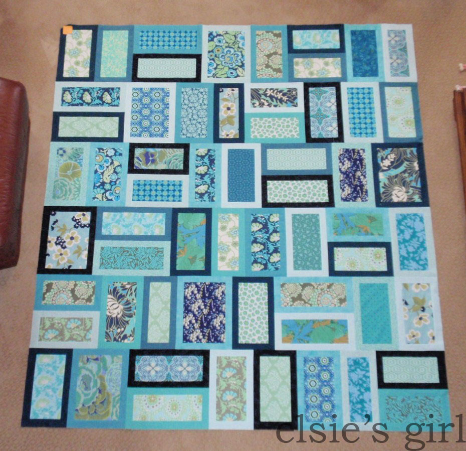 Quilt Patterns For College Students : elsie s girl: college quilt top completed