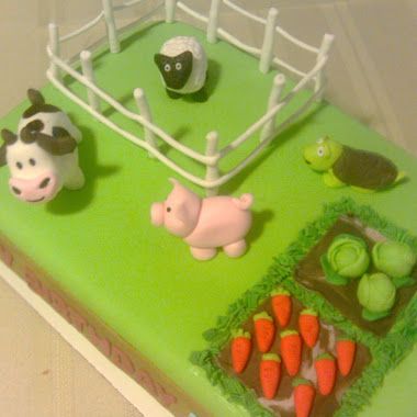 Farmville Cake