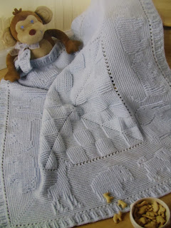 Baby Afghan Knitting Pattern | FaveCrafts.com