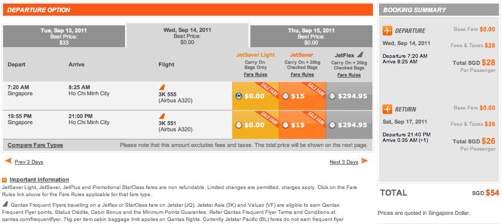 Jetstar Cheap Flight