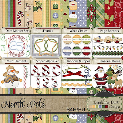 Preview of North Pole by Dandelion Dust Designs