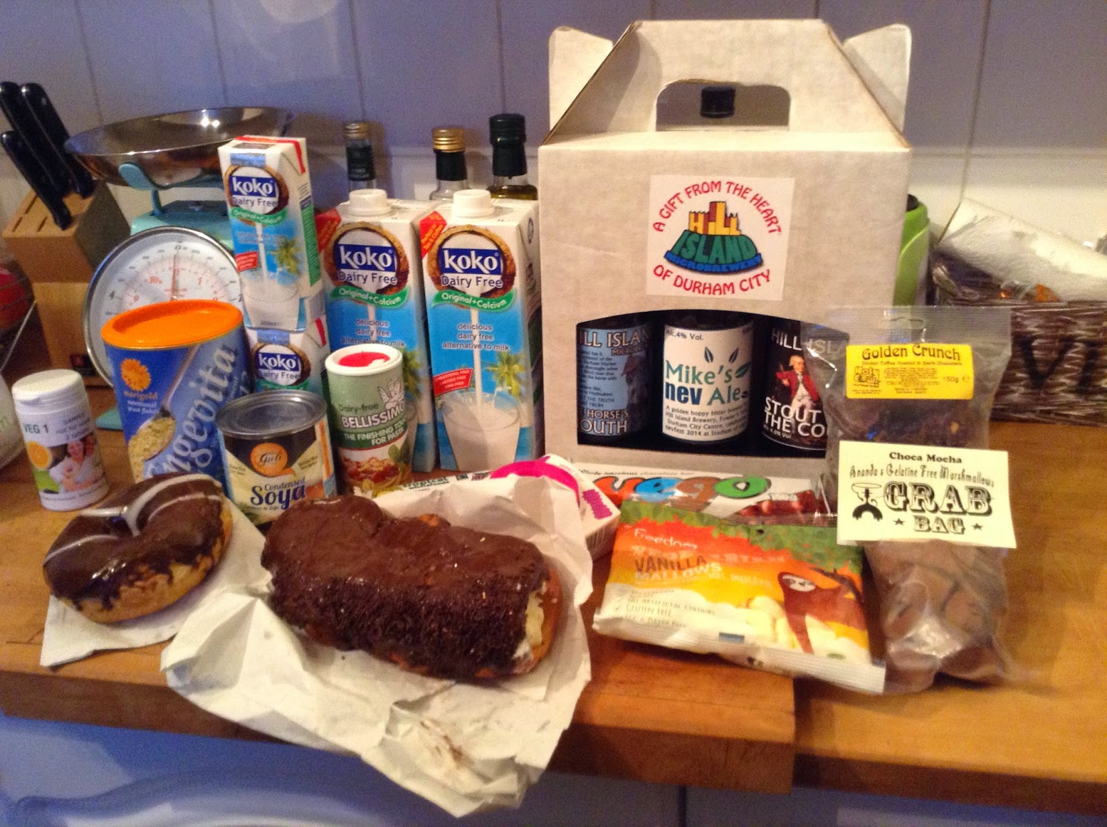North East Vegan Festival 2014 haul