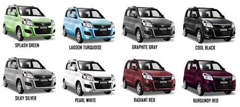 Varian warna Karimun Wagon R