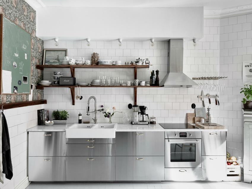 cocina industrial vintage