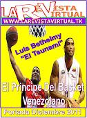 Portada Diciembre 2011: Luis Bethelmy