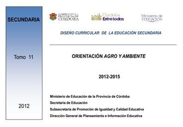 DISEÑO CURRICULAR  DE  LA EDUCACIÓN SECUNDARIA