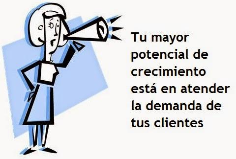 Distribuidor potencial de ventas, satisfacer necesidades de clientes