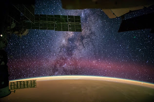 NASA ASTRONAUT ON ISS POSTS MILKY WAY IMAGE TO SOCIAL MEDIA