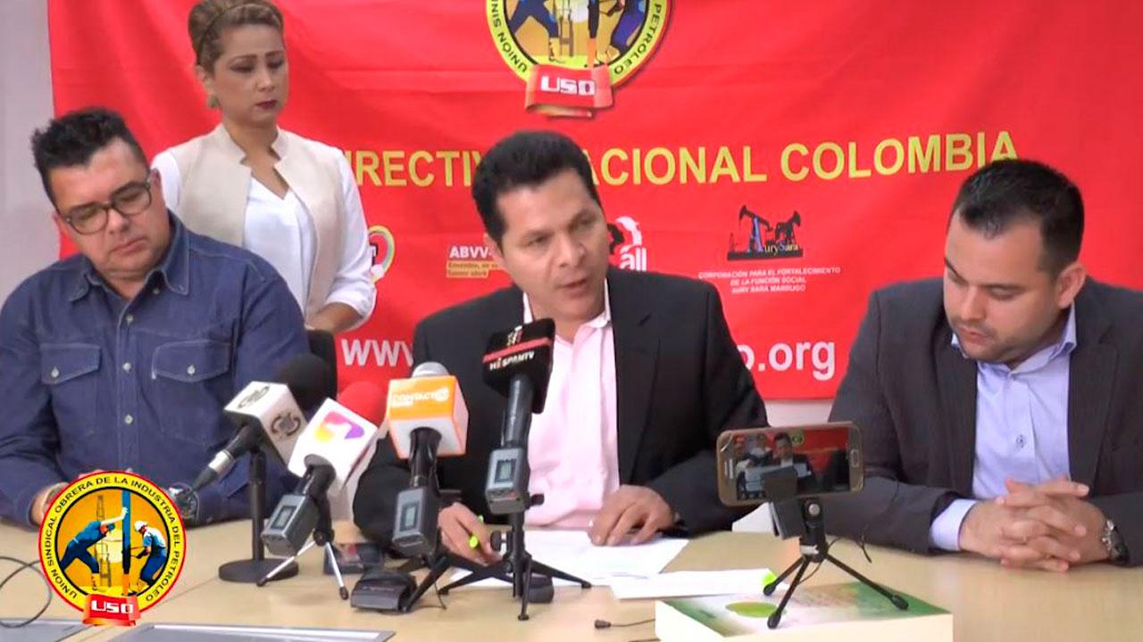 Rueda de prensa sobre pliego de peticiones USO