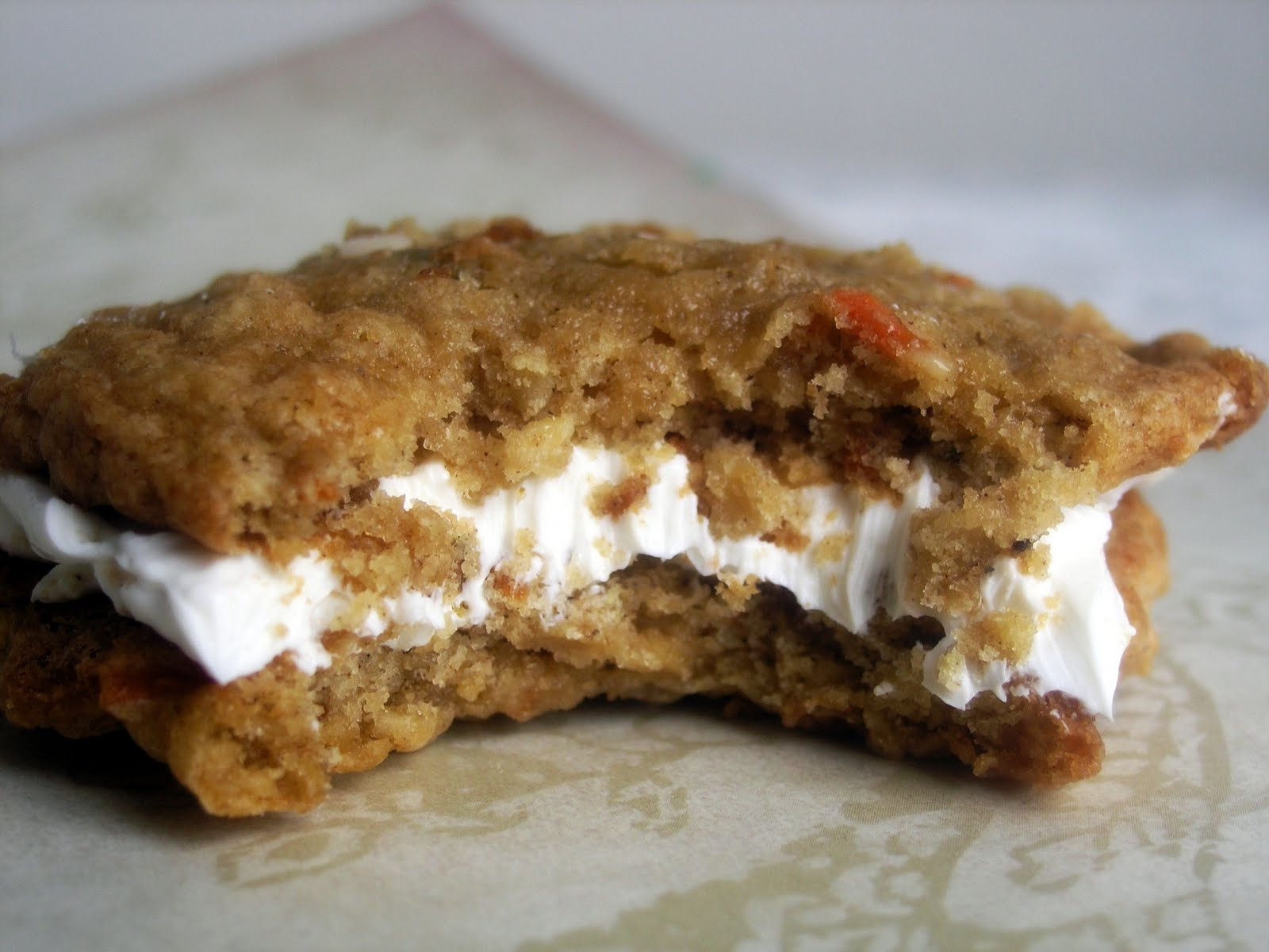 Whisk and A Prayer: Carrot Cake Cookie Sandwiches