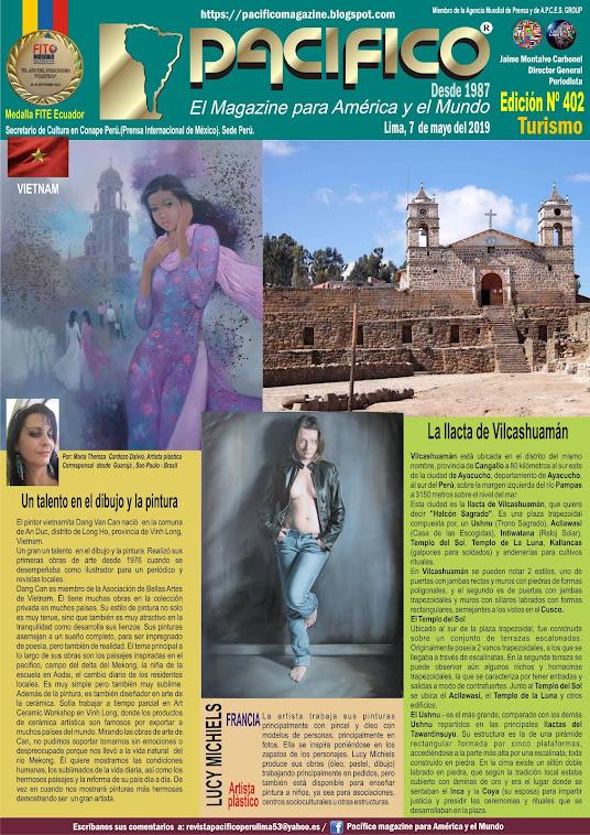 Revista Pacifico N° 402 Turismo
