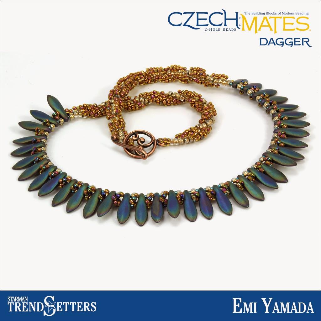 CzechMates Dagger choker necklace by Starman TrendSetter Emi Yamada