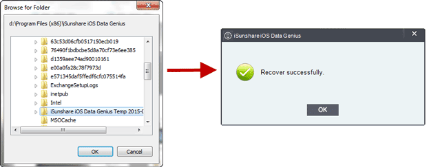 successfully recover iPad deleted files with iOS Data Genius