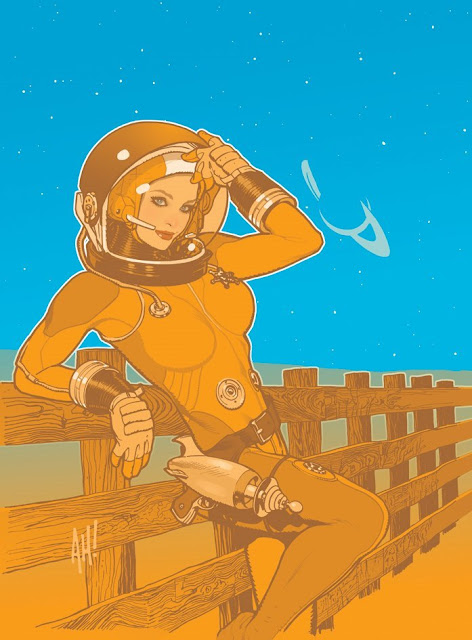 Space by Adam Hughes