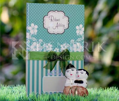 Contoh Undangan Pernikahan Hardcover Rahma & Addian (HCGD-26)