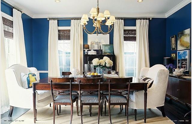 gambar interior rumah berwarna biru