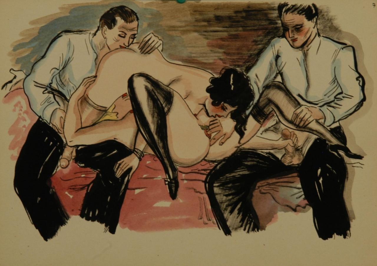 Сюжетная эротика 70 годов 5 фотография